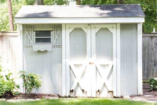 12x12 sheds make over ideas