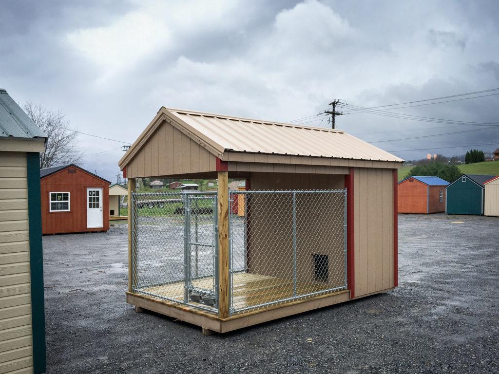 prefab dog kennels with duratemp siding