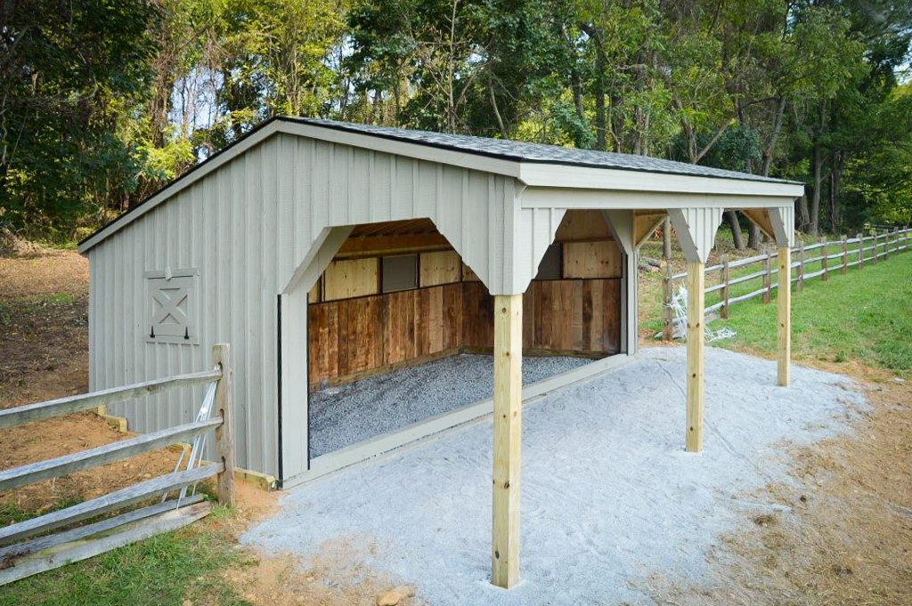 run in sheds for sale in virginia