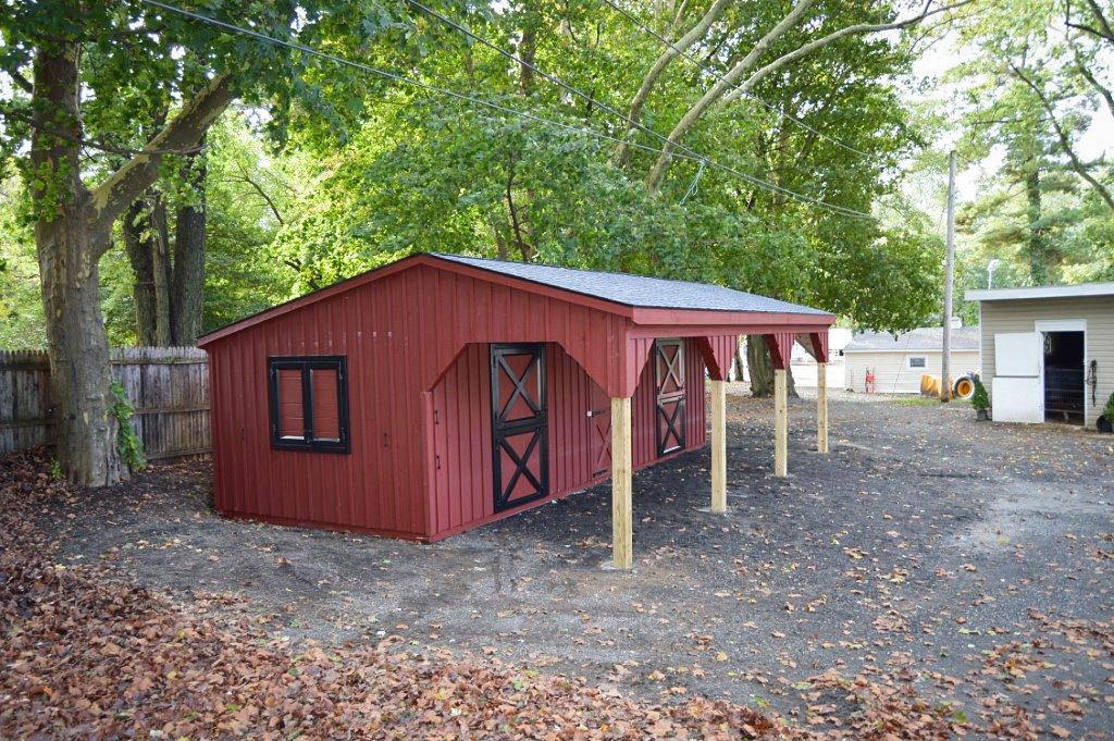 shed row barn in dublin va