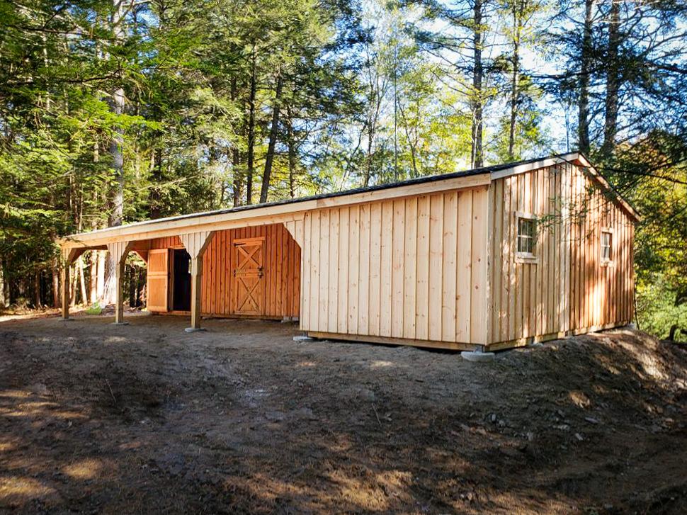 buy a prefab horse barn in va