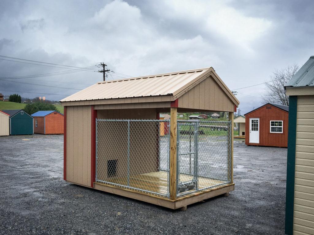 outdoor dog kennel in dublin va