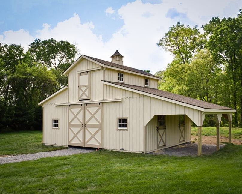 lofted horse barns for sale in va