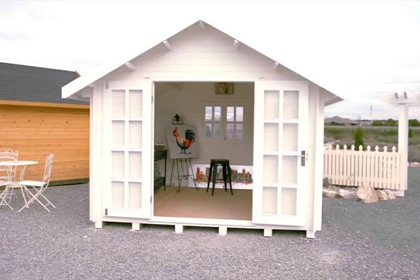 Art Studio Small Shed
