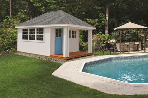 Pool House Small Shed