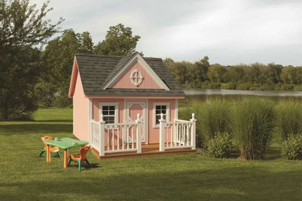 Small Playhouse Shed