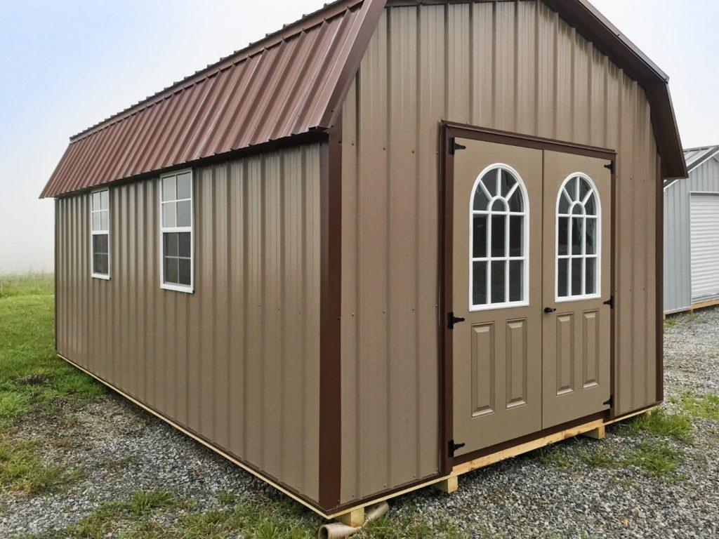 portable garages financing