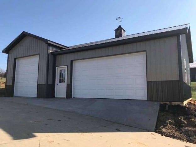 pole barn garage vs carport garage