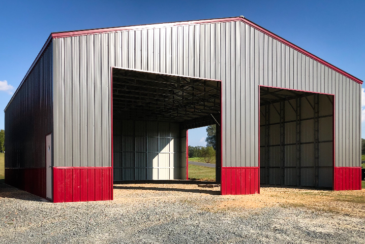 A commercial carport for sale in Virginia