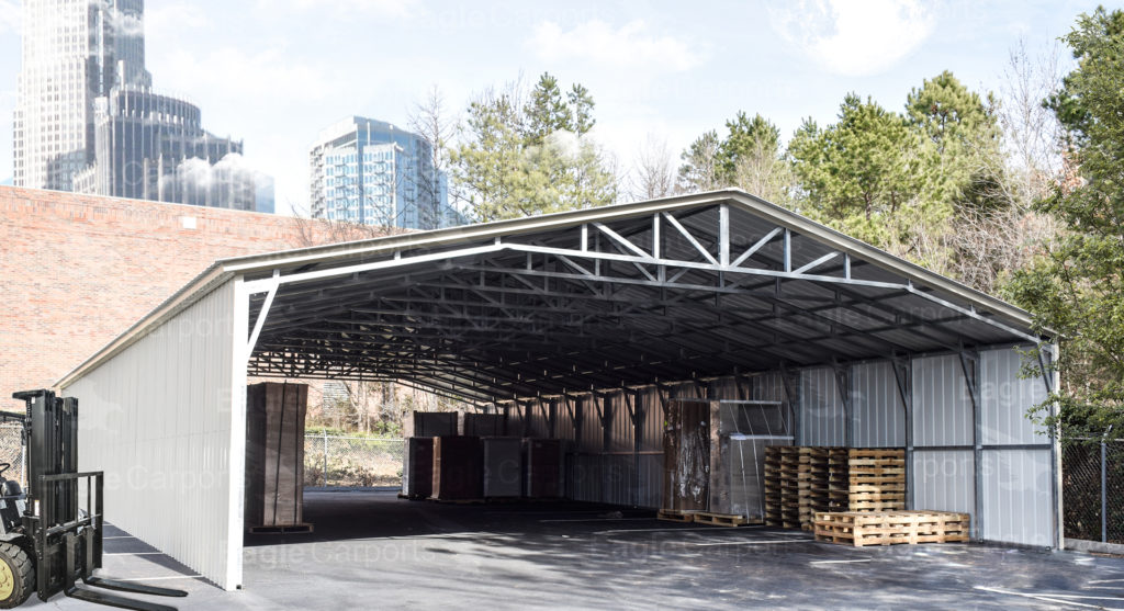 metal carports for outdoor storage