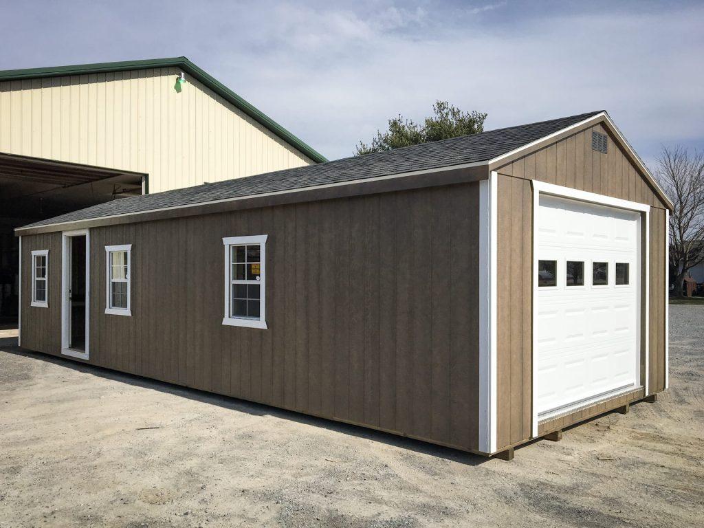 single car prefab garages in va