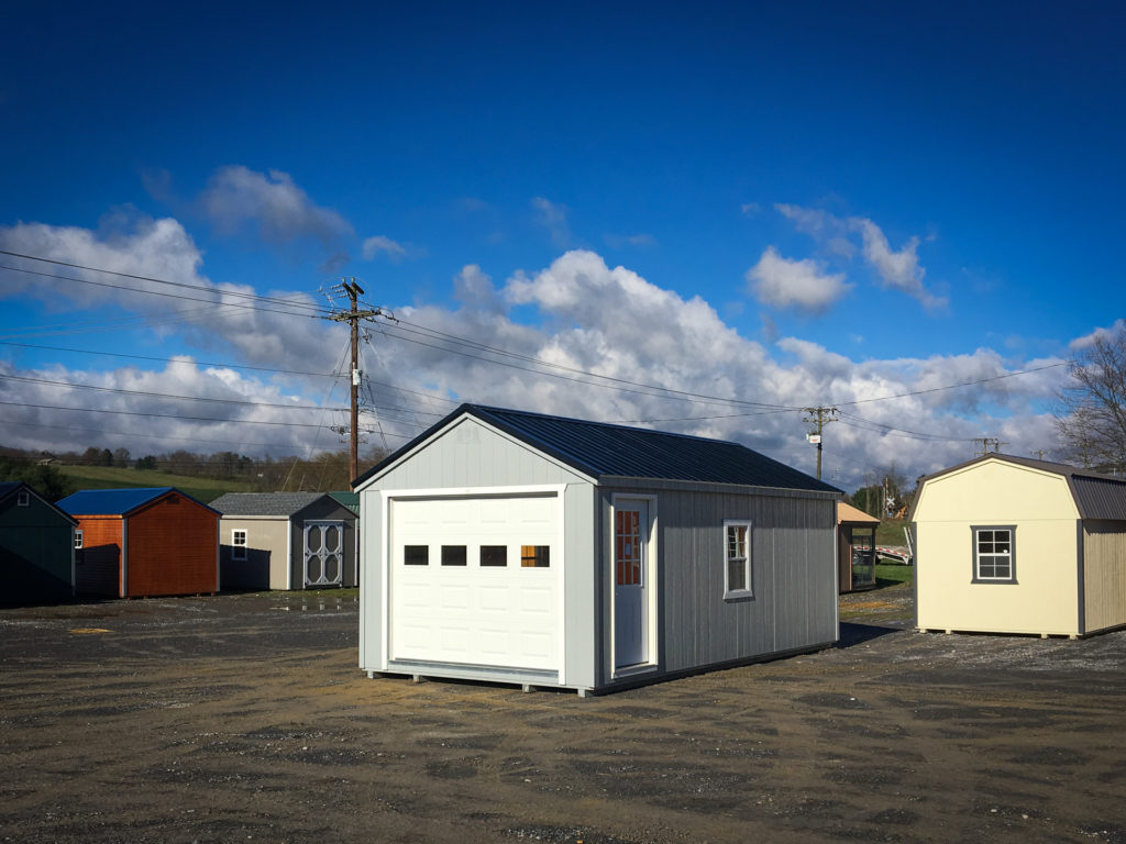 buy single car prefab garage in virginia