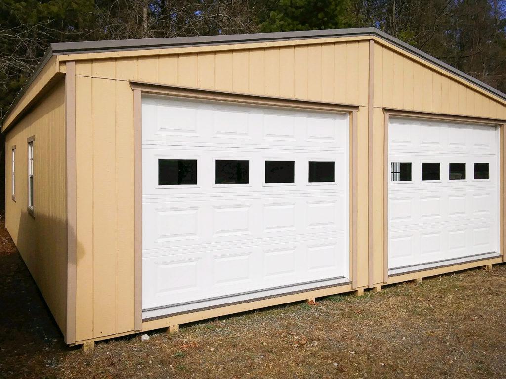 doublewide prefab garages in radford va