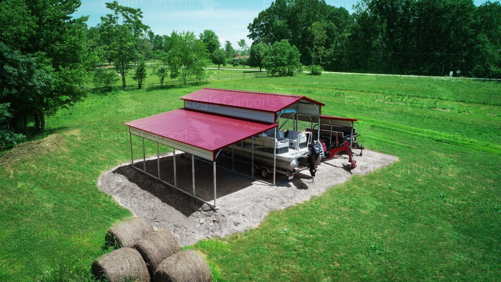 portable garage and carport for boats