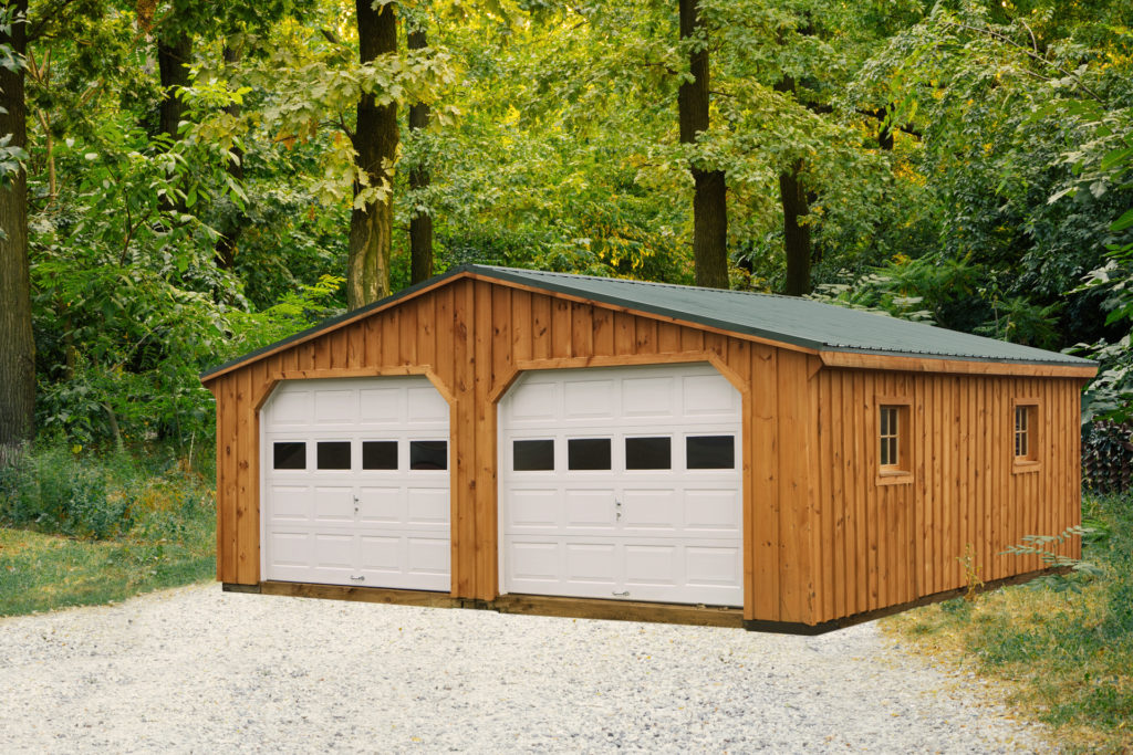 double wide portable garage for sale