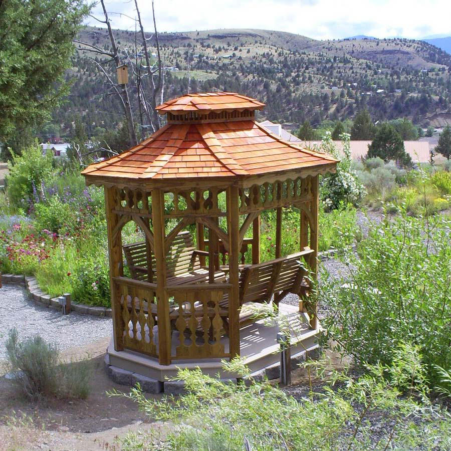 wooden gazebos for sale in mccoy va