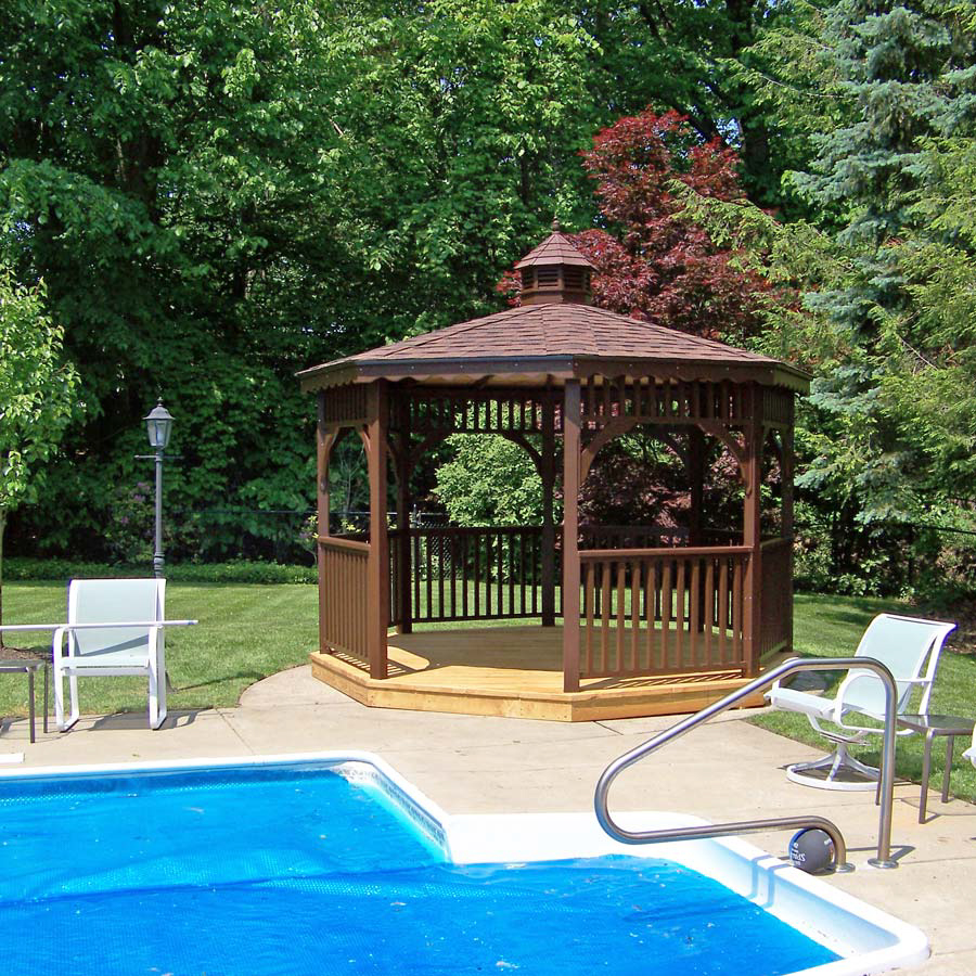 gazebo by the pool in virginia