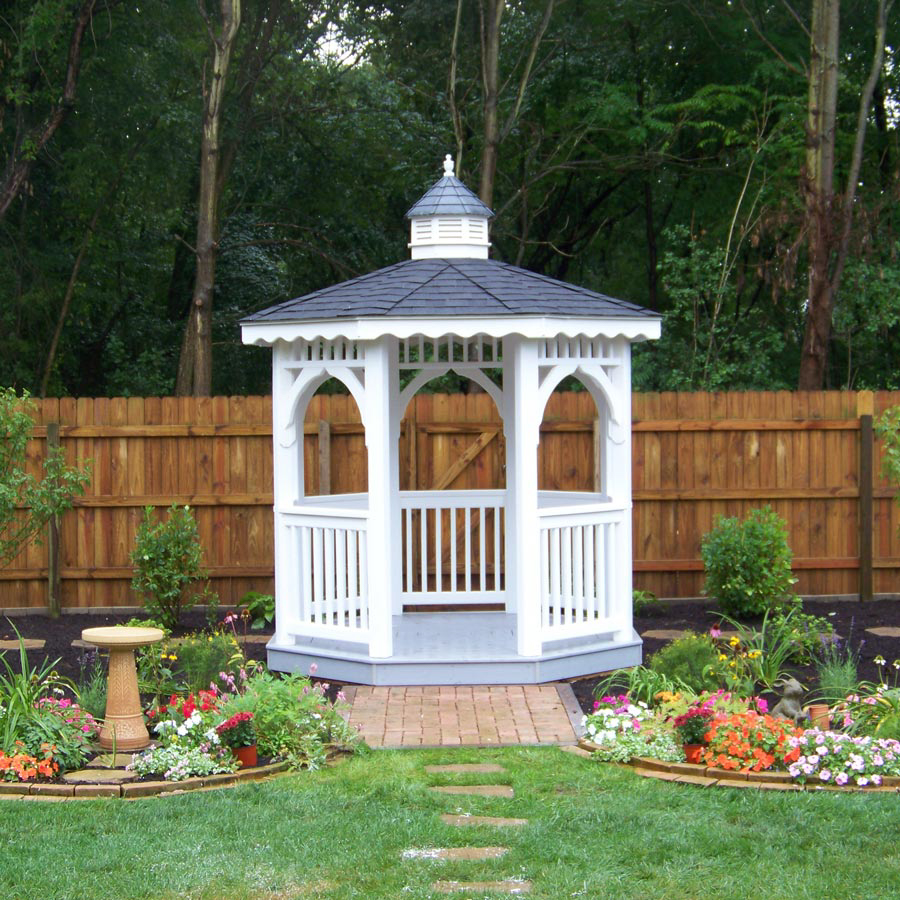 white gazebo in virginia