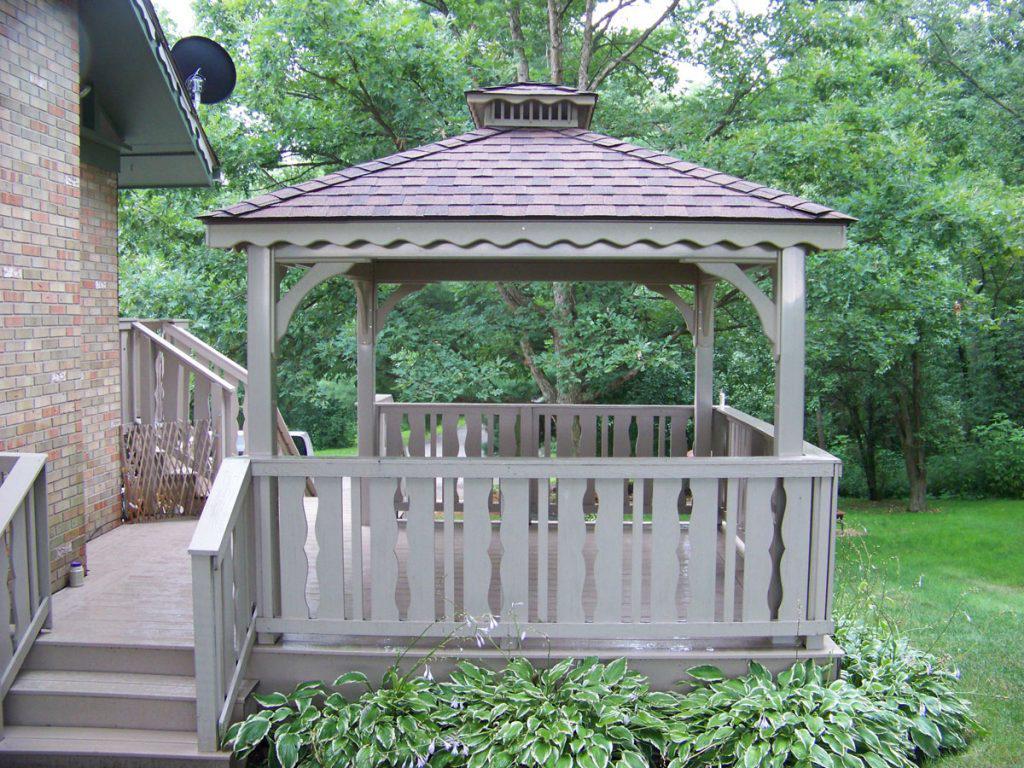 custom vinyl pavilions for your backyard
