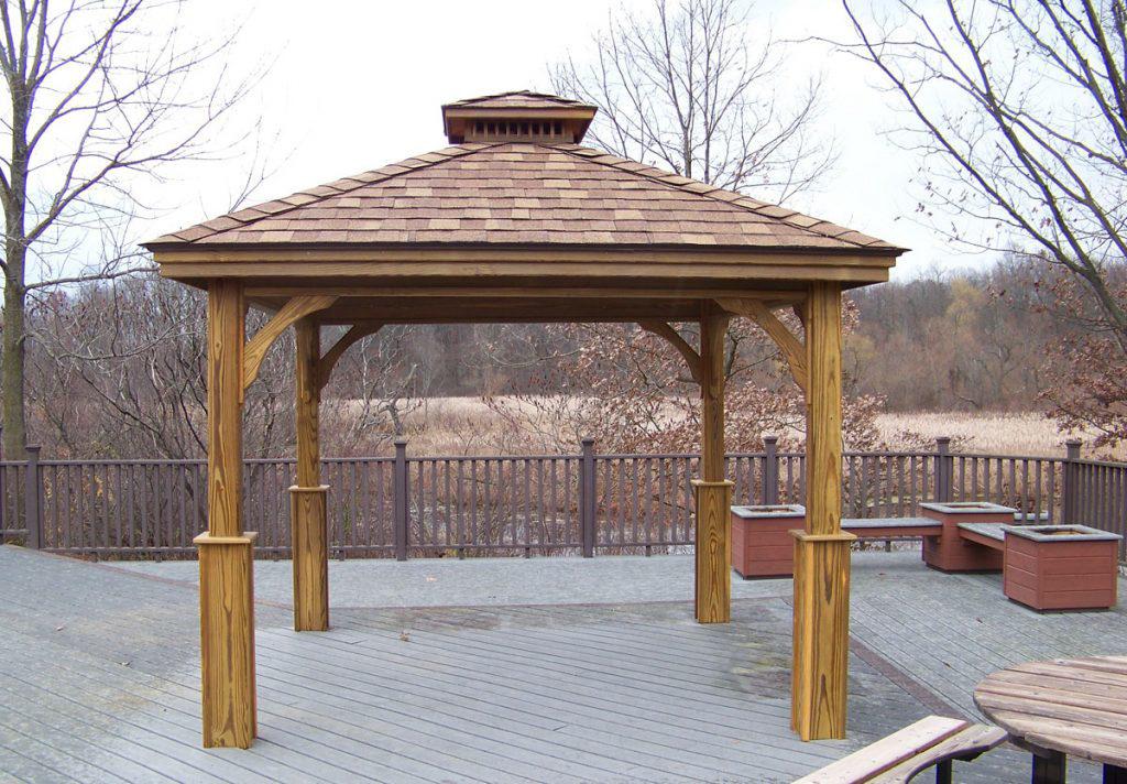 buy a wood pavilion in va