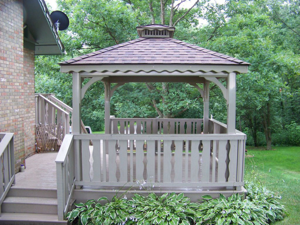 pavilions on a deck in virginia