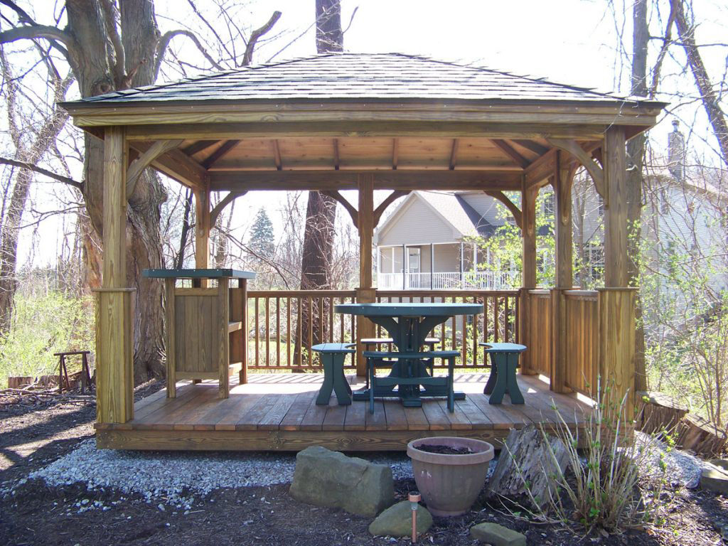 pavilion for your home in va