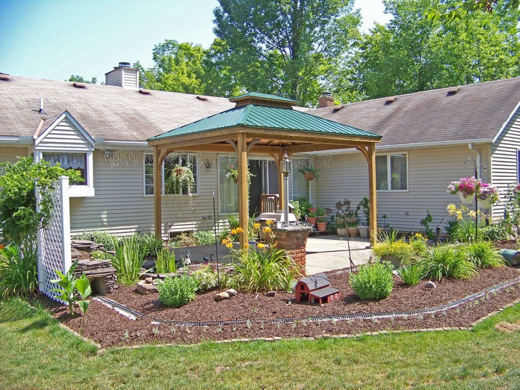 pavilions with metal roof for sale in va