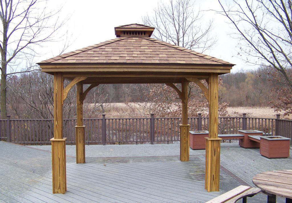pavilions with wood siding for sale in va