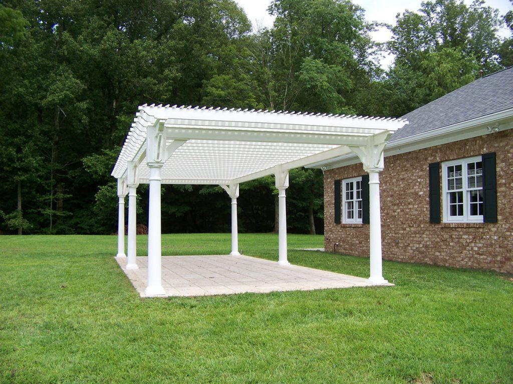 buy vinyl pergolas in virginia