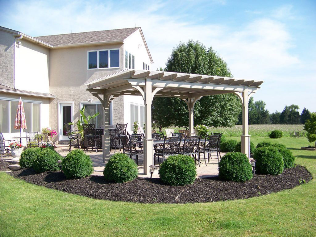 vinyl pergola for sale in dublin va