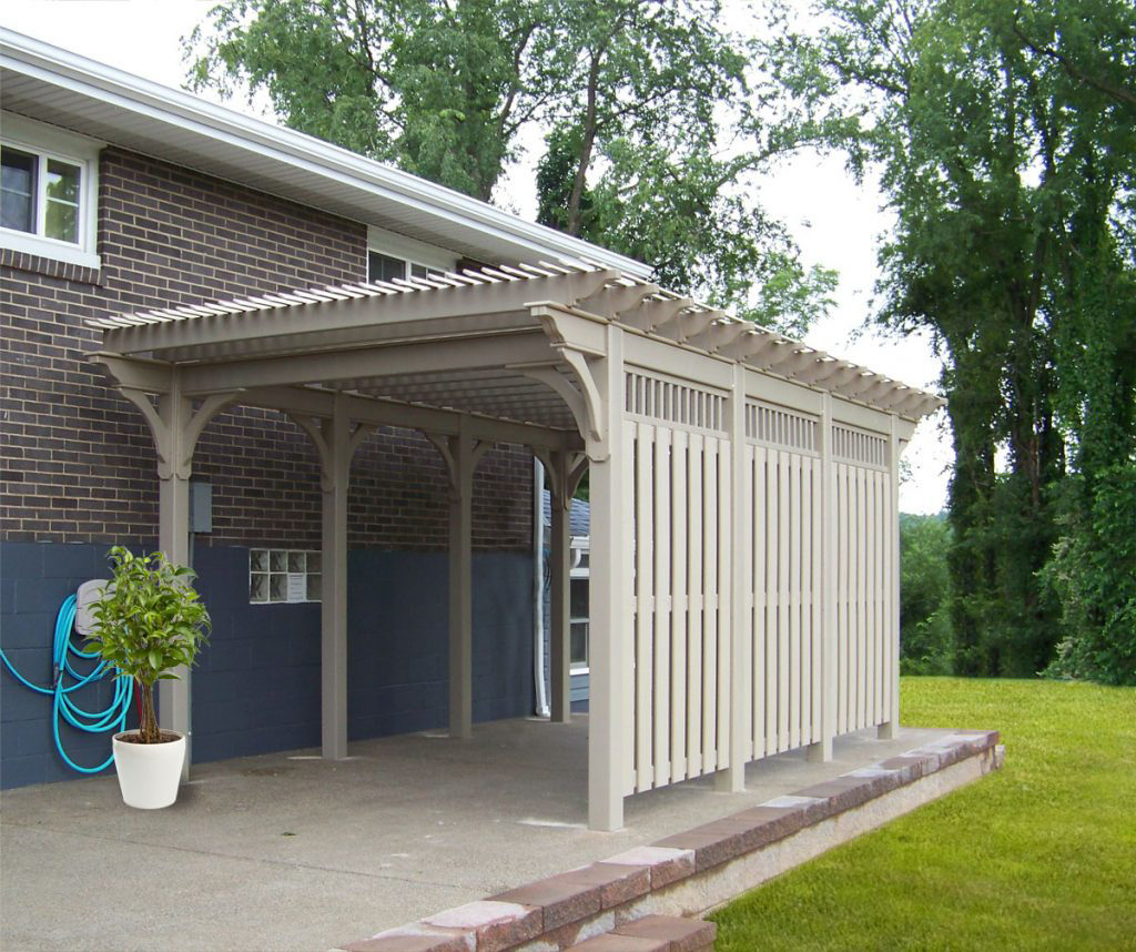 buy vinyl pergolas in north carolina