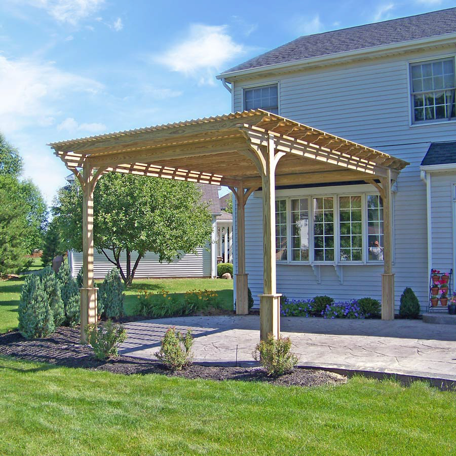 wooden pergola for sale in wv