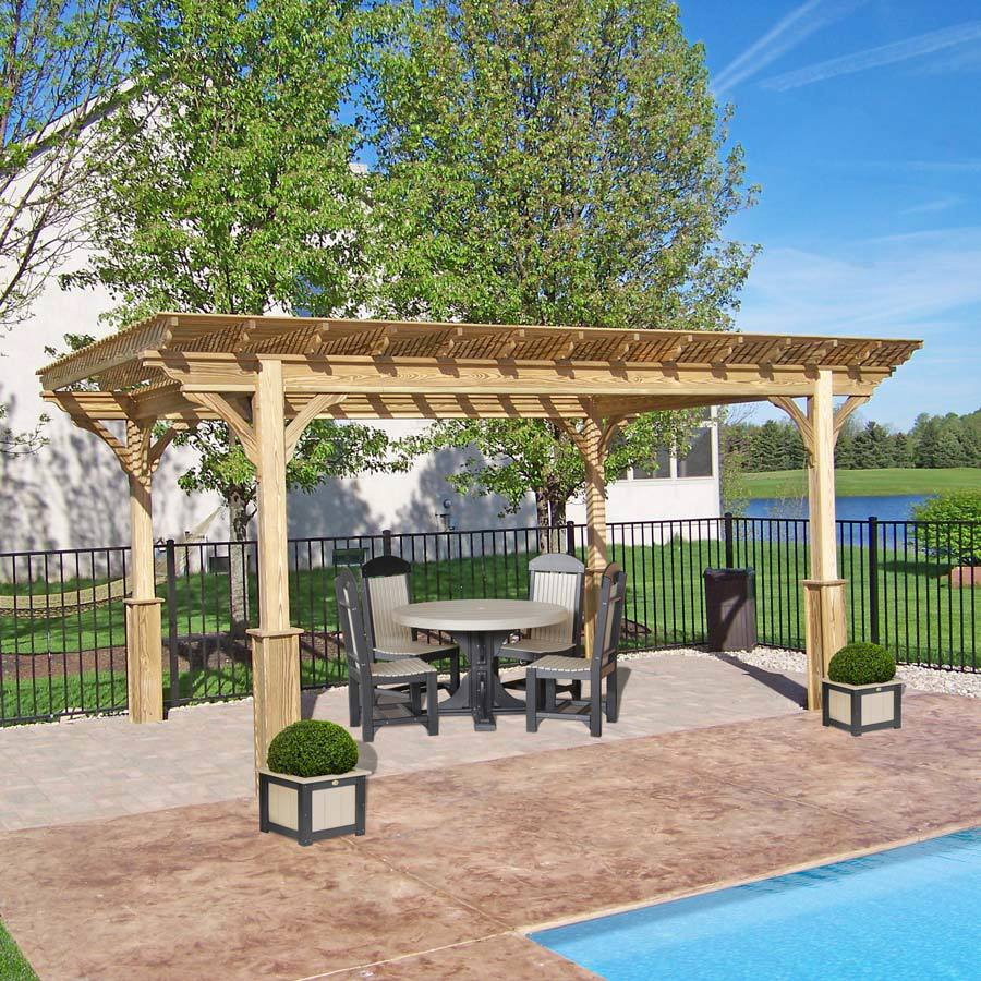 wooden pergola for sale in nc