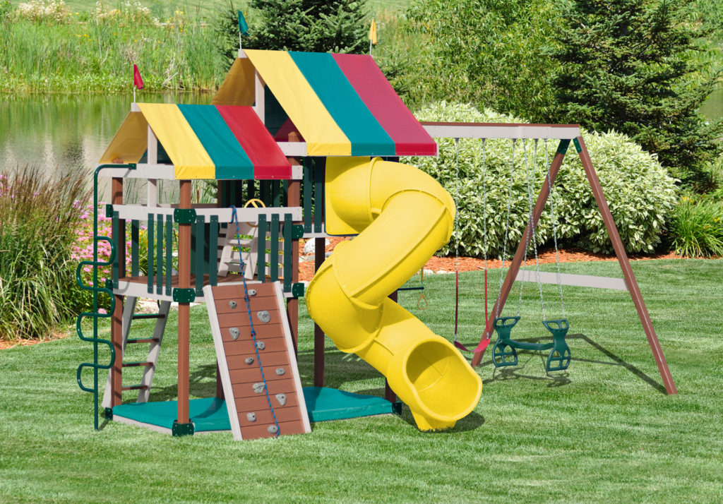 poly backyard playground equipment in virginia