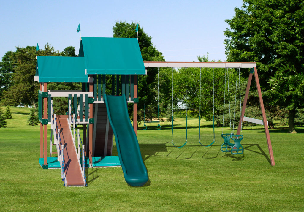 poly playground equipment for sale in fort chiswell va
