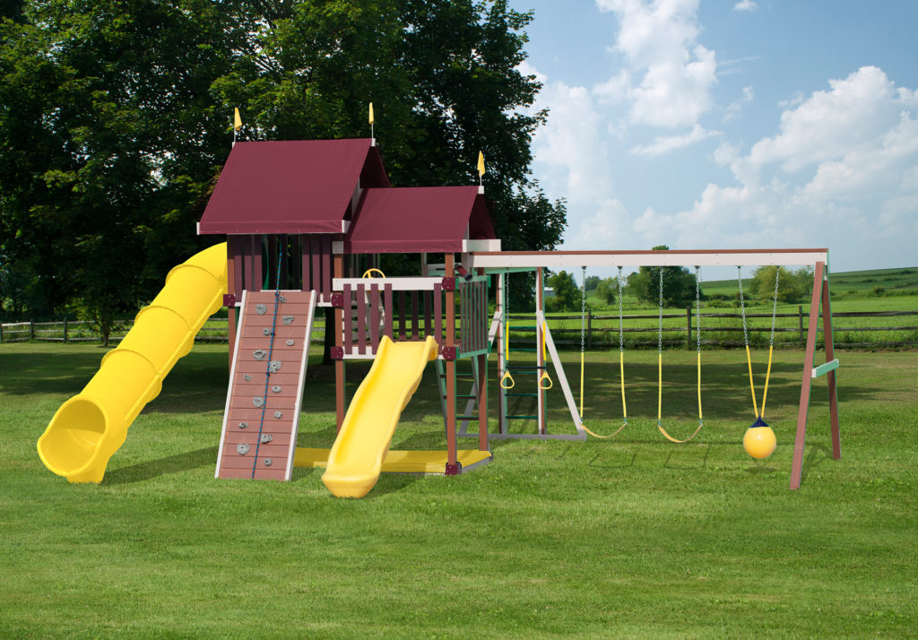 large poly playground equipment for sale in dublin va