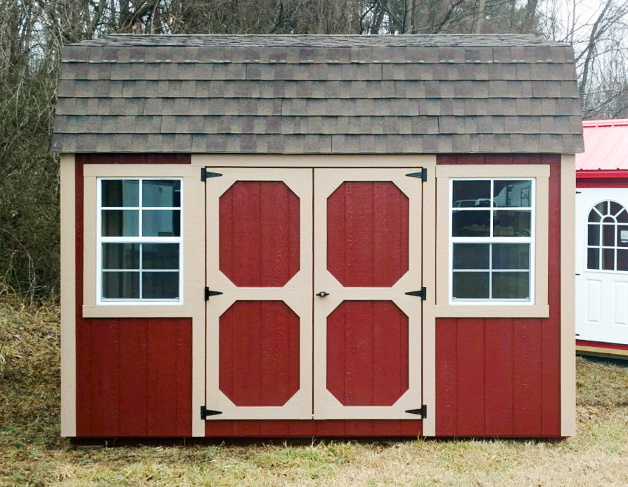 lofted storage sheds in va