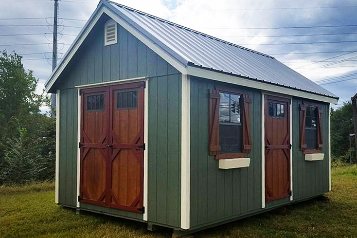 quality built storage sheds