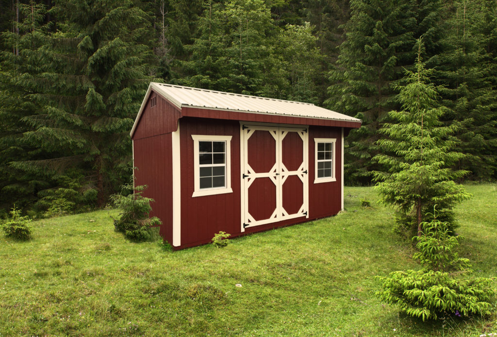 outdoor storage sheds in va