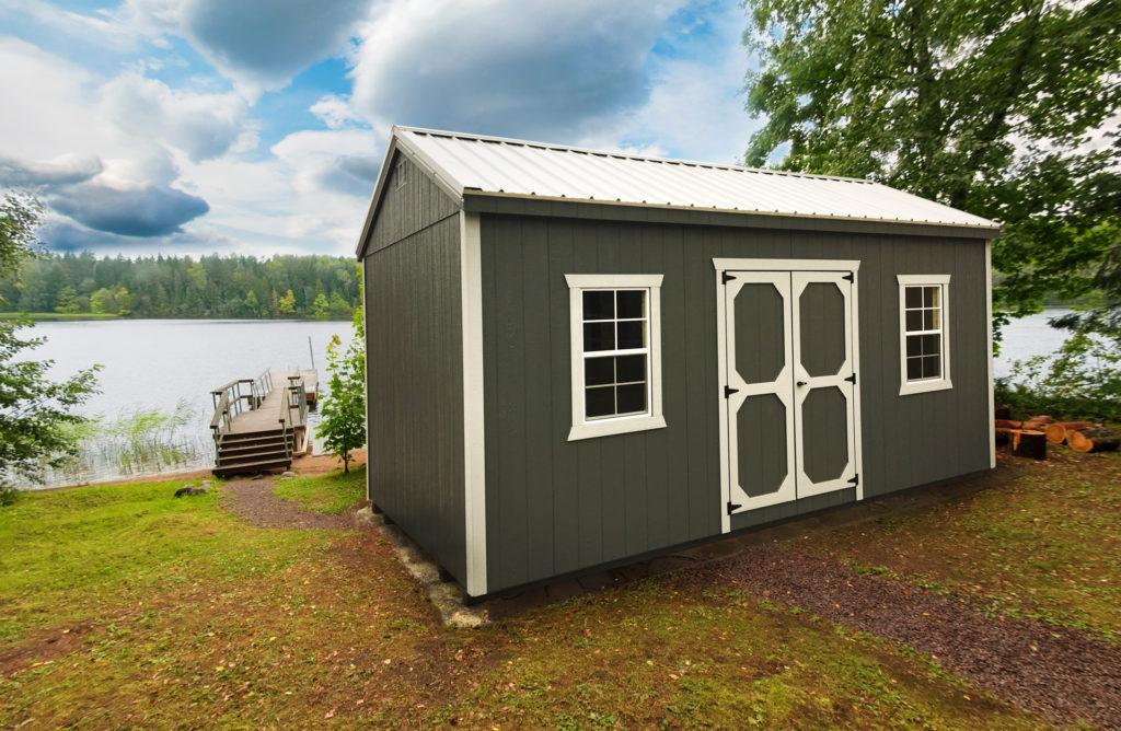 lake house storage shed