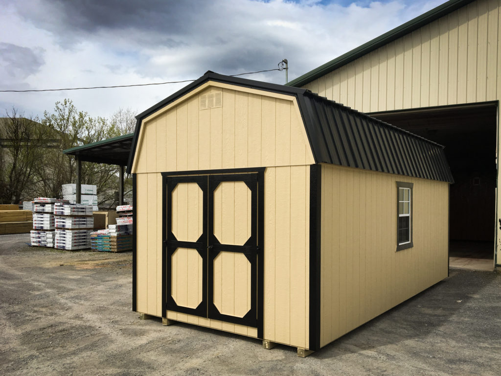 lofted outdoor sheds for sale
