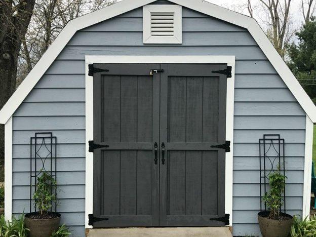 affordable storage sheds in dublin va