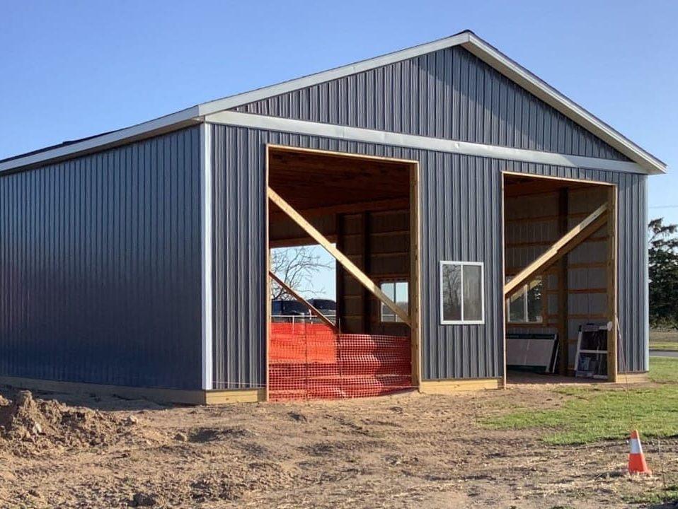 carport garage vs pole barn garage 2021