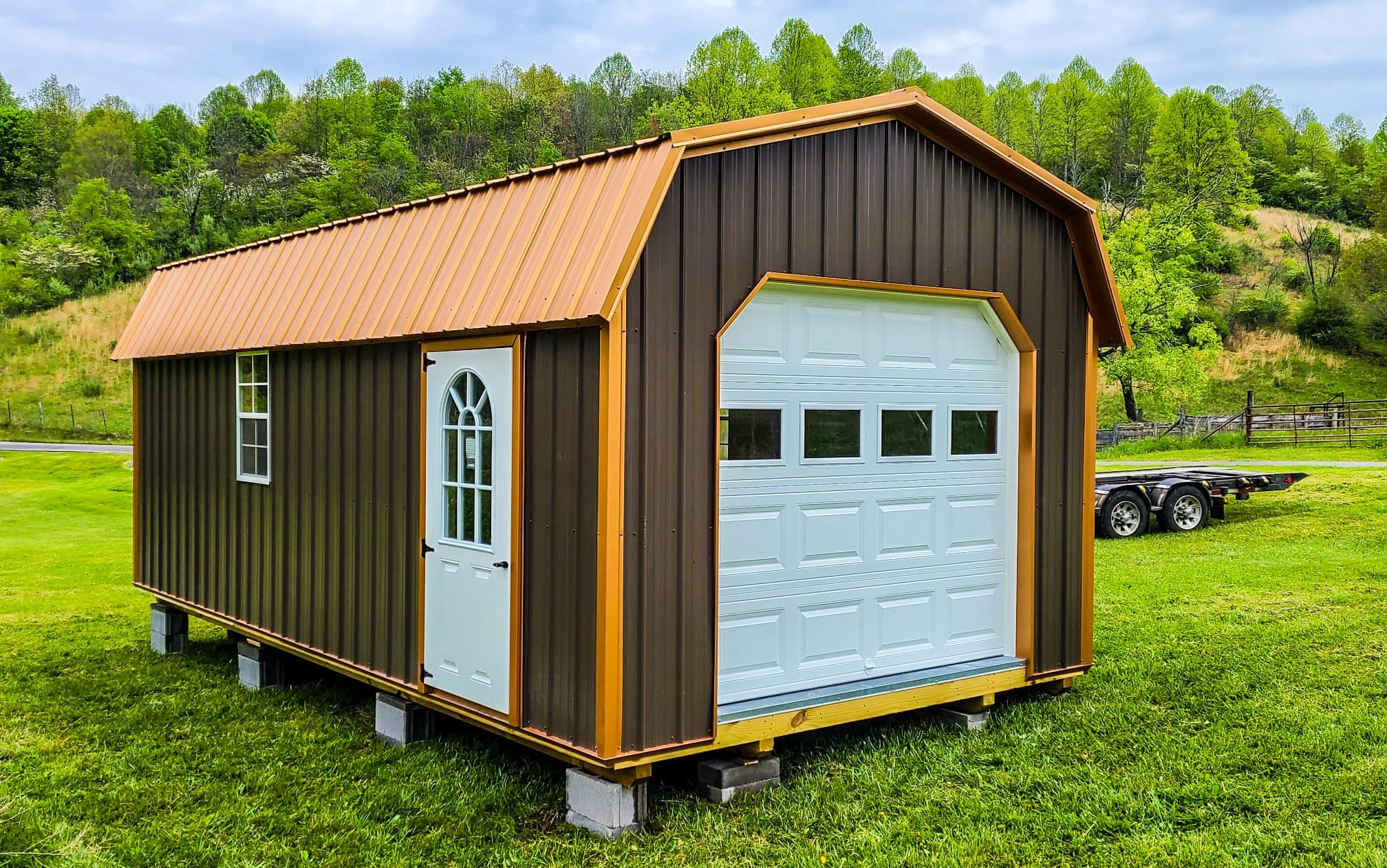 how much does a single car garage cost in virginia