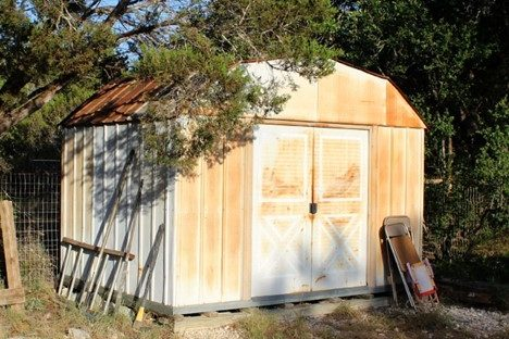 metal wood shed make over ideas blogs