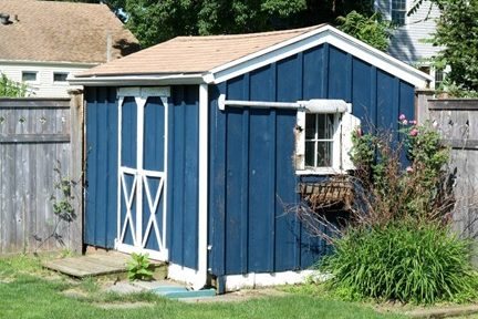 remodeling a metal storage shed in dublin va